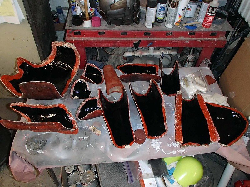 Molds with Gelcoat