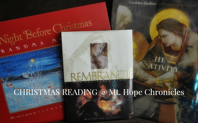 Christmas Reading @ Mt. Hope Chronicles