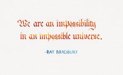 Quotation - Ray Bradbury