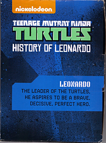 "Nickelodeon ""HISTORY OF TEENAGE MUTANT NINJA TURTLES"" FEATURING LEONARDO box ii (( 2015 ))"