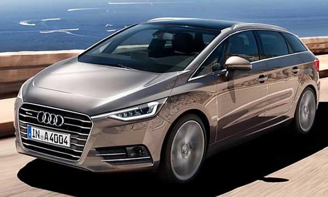 Будущий минивэн Audi (неофициальный рендер)