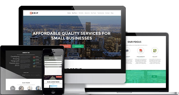 Zerif PRO - Best One Page WordPress Theme