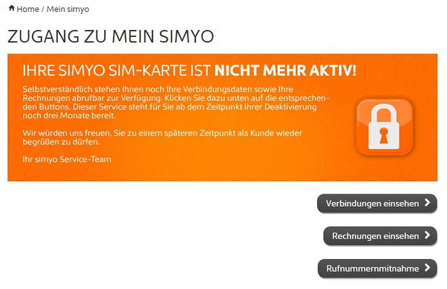 Simyo Support E-Mail und Kundennummer finden