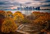 Lower Manhattan Skyline from near Ellis Island
