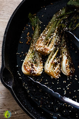 Spicy Bok Choy | infinebalance.com #recipe #vegan