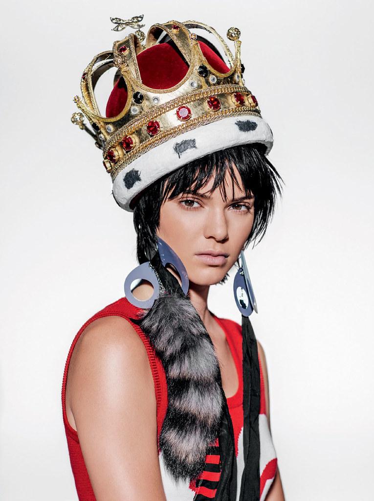 Кендалл Дженнер — Фотосессия для «Vogue» BR 2015 – 10