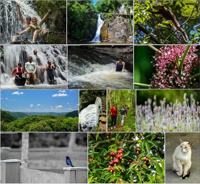 Seis Cachoeiras do Sete Lagos - Itaara RS - Clube Trekking Santa Maria RS