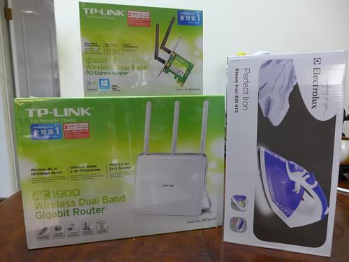 TP-LINK 無線分享器+無線網卡