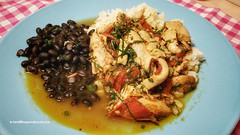 Black Beans and Rice serve as side dishes for Stew…