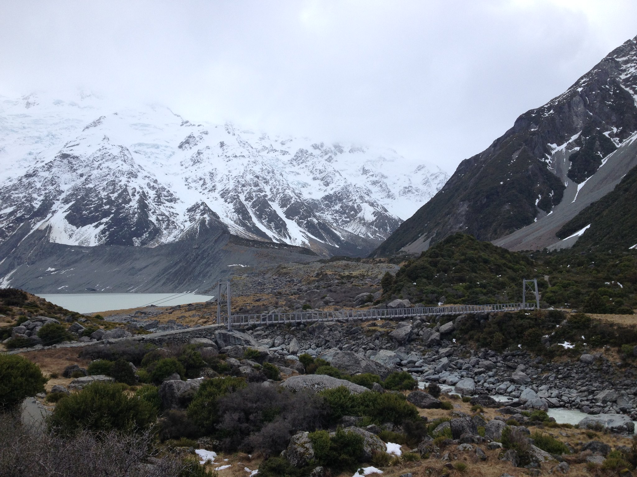 Hooker Valley Track, Mt. Cook National Park