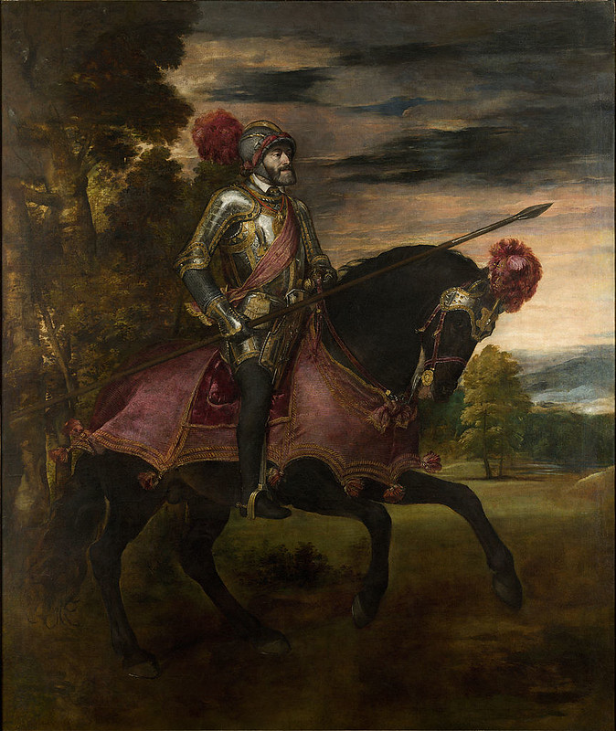 Equestrian Portrait of Charles V, or Charles V at Mühlberg, by Titian