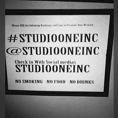 Please use the appropriate hashtag so we can see all the love and support from our friends and fam follow us ..tag us.. #studiooneinc #beats #recording #recordingstudio #studiolife #music #mixing #mastering #protools11hd #umg #wemakethemclassics #wetheone