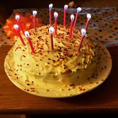 Debate? Cake! #birfday, #allthecandles