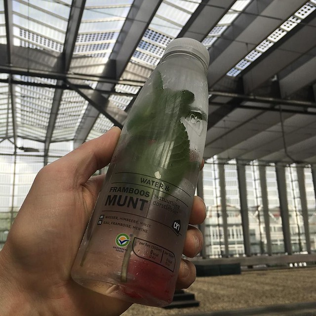 You can buy #water with #mint and #fruit in the #Netherlands like you'd get in a #spa in #America. #itsbetterhere #movinghereifTrumpwins