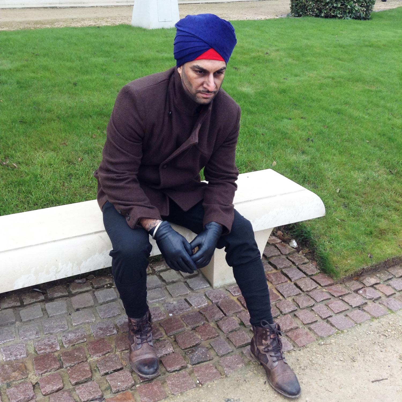 WW2 Sikh Soldier - 1