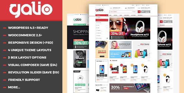 VG Galio v1.7 - Mega Shop Responsive WooCommerce Theme