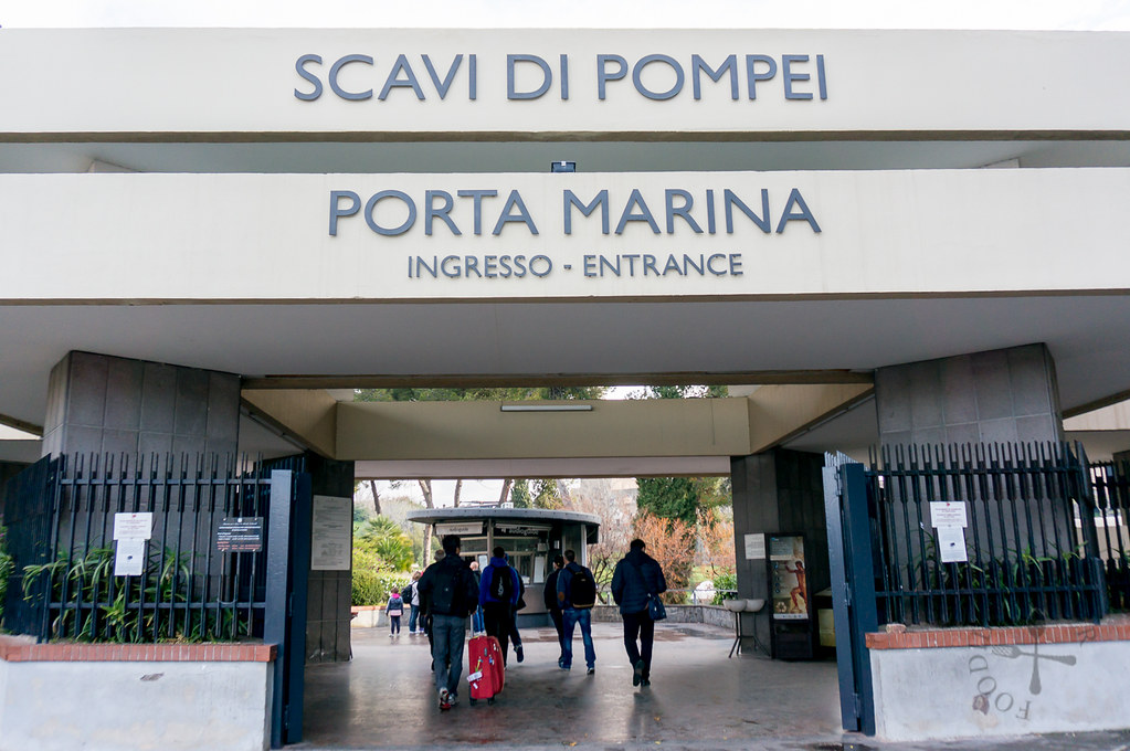 entrance to pompeii