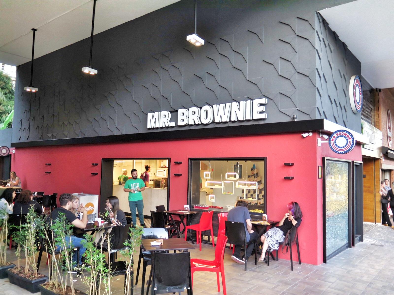 Chora saladinha, chegou a loja Mr. Brownie!