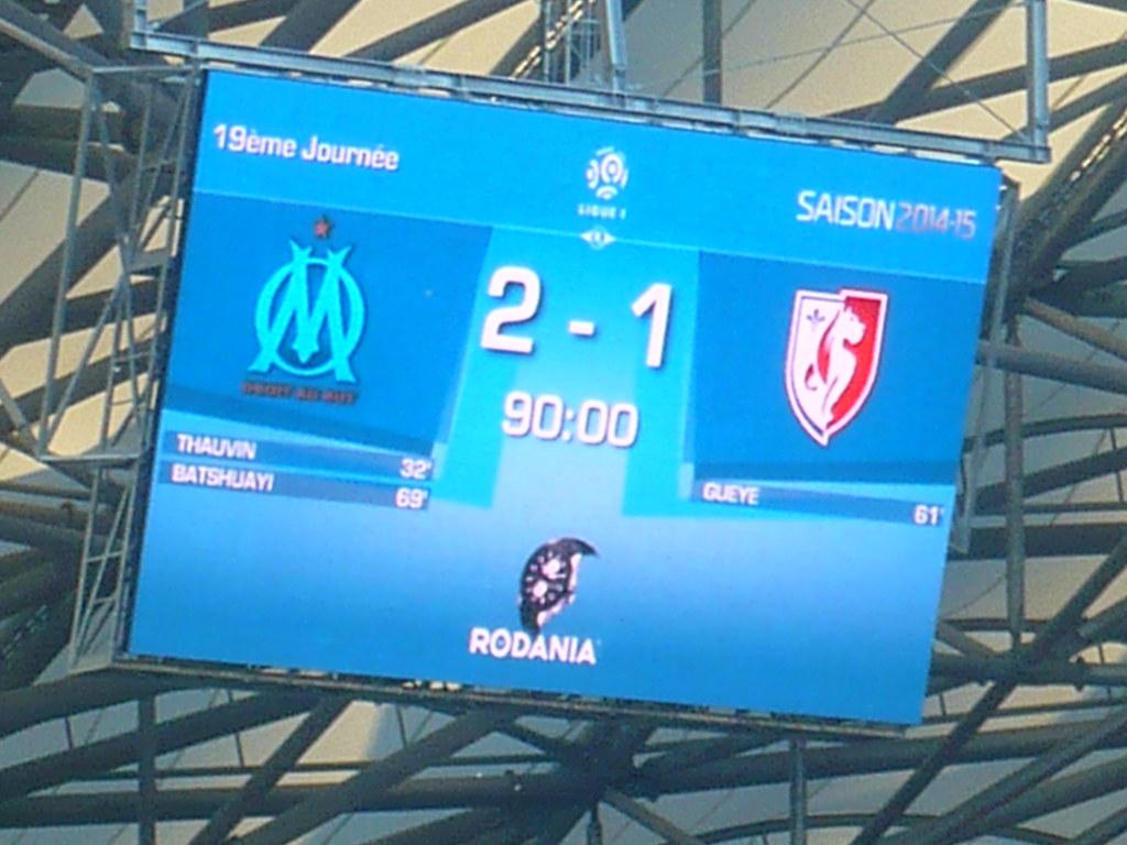 2014 / 2015 - J19 - OM / Lille