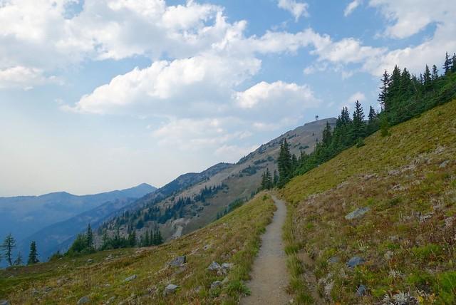 Towards Buffalo Pass