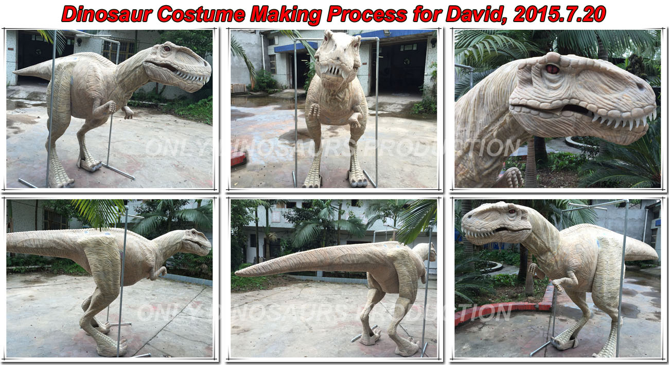 Dinosaur Costume Making Process-02