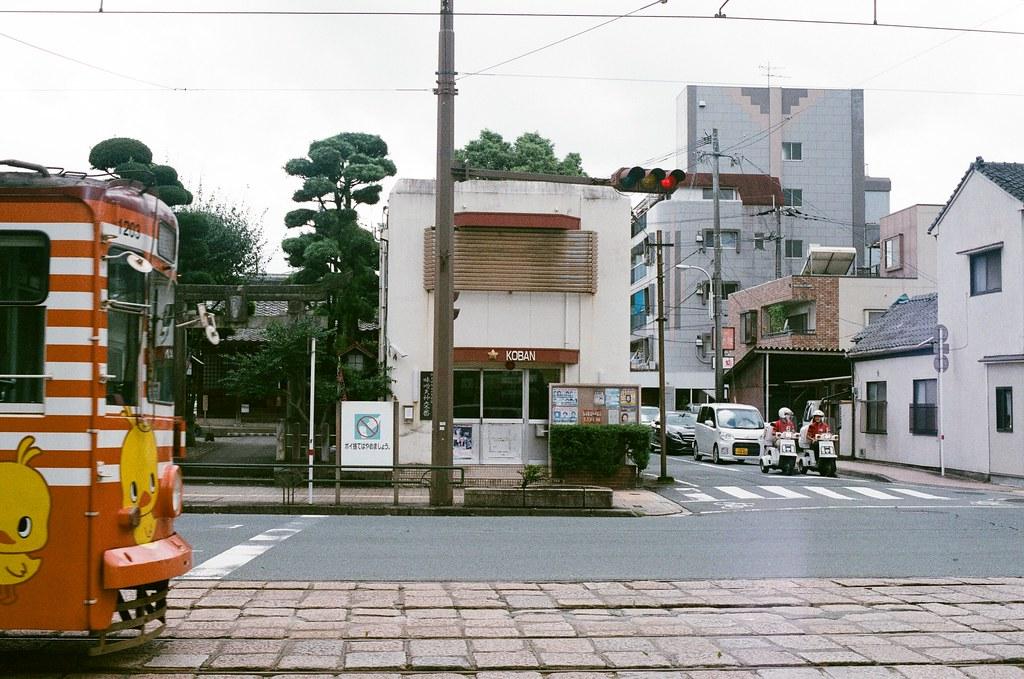 味噌天神前 交番 熊本 Kumamoto 2015/09/06 小小交番  Nikon FM2 / 50mm AGFA VISTAPlus ISO400 Photo by Toomore