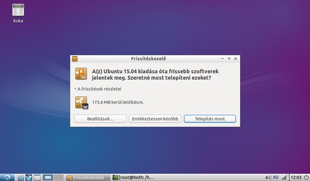 Asus Eee PC 1001HA korszerűsítése projekt #6