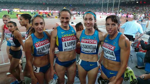 Ольга Земляк на чемпіонаті світу — шоста