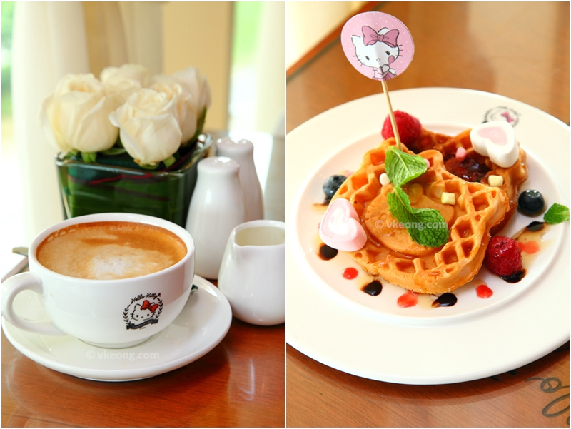 Hello Kitty Cafe Coffee and Waffle