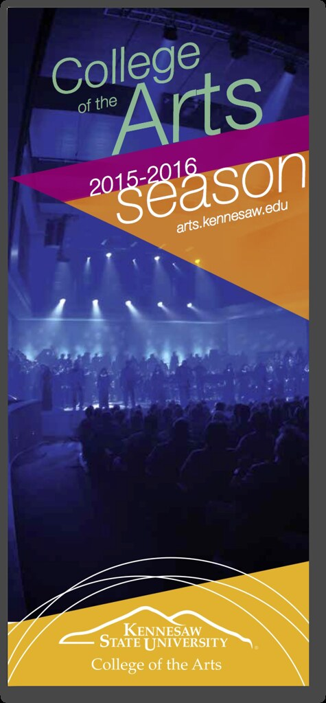 Click to view 2015-2016 College of the Arts Season Brochure