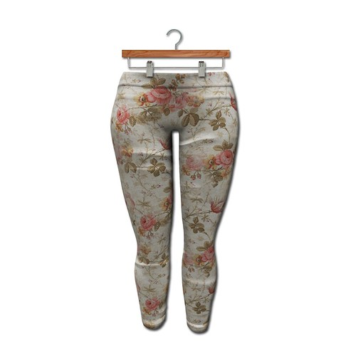 {MYNX} Leggings - Rose Floral