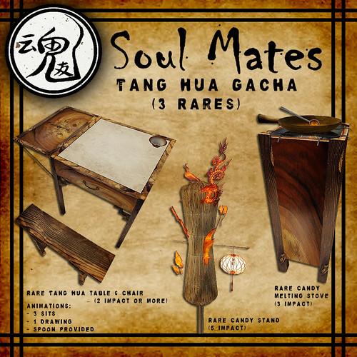 [Soul Mates] Tang Hua Gacha - Rares