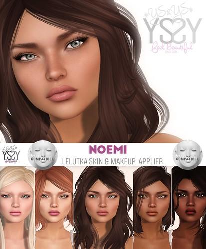 *YS&YS* Noemi applier for Lelutka Heads