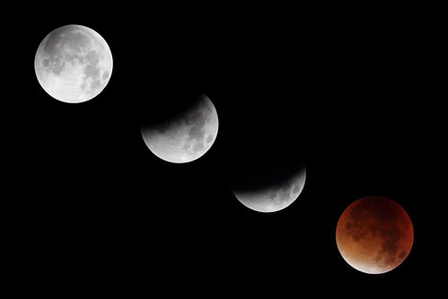 """Supermoon"" Eclipse (Canon 7D + Televue-60)"
