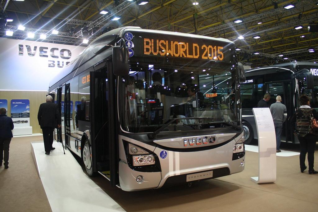 BusWorld 2015 IVECO URBANWAY.