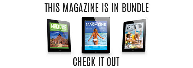 Tablet Vacation Magzine Template Issue Two