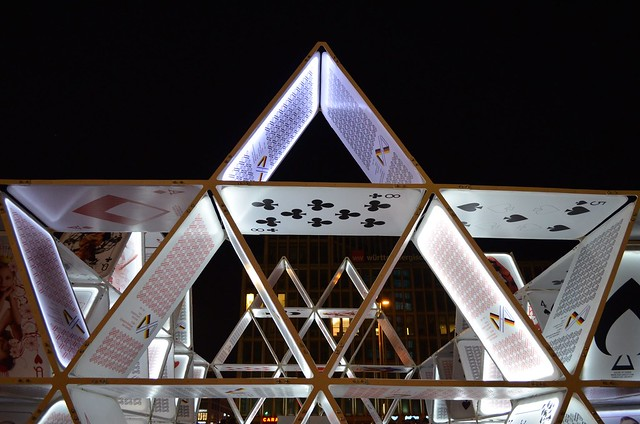 Berlin Festival of Lights 2015 house of cards