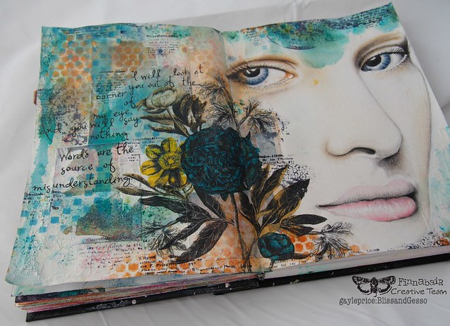 Misunderstood: Art Journal page