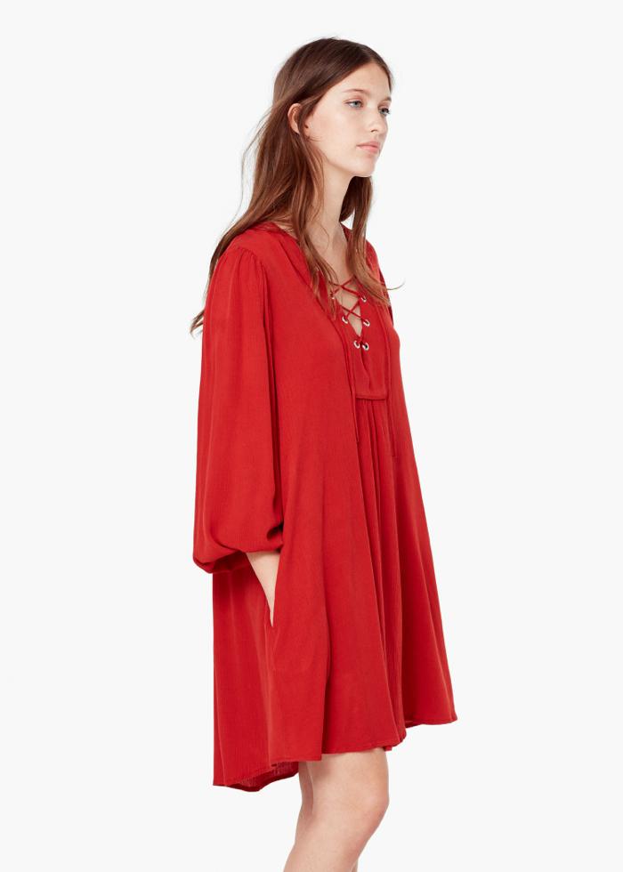 DRAWSTRING WAIST DRESS 39,99e