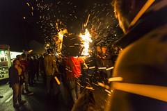 Ottery St. Mary Burning Barrels 2015