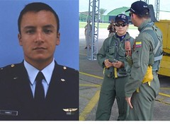 RIP Colombian Fighter Pilots Lt. Herman Ramirez and Lieutenant Pilot Johanna Ximena Herrera Cortes