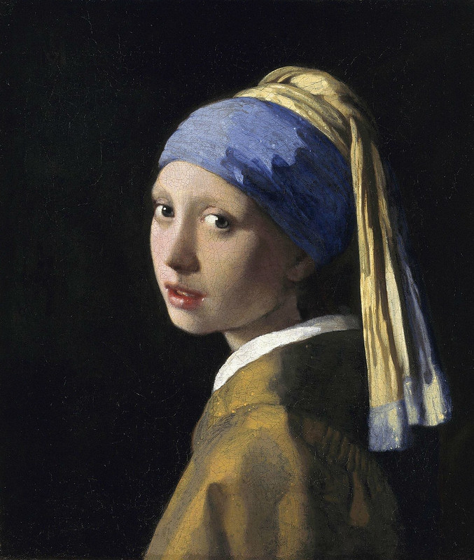 Girl without a Pearl Earring