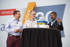 Georges Saab, Robert Clark and Sharat Chander, Java Keynote, JavaOne 2015 San Francisco