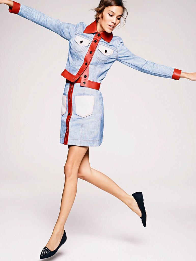 Алекса Чанг — Фотосессия для «Elle» UK 2015 – 2
