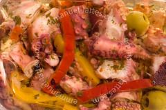 Poulpes (Octopus macropus) à la provençale.