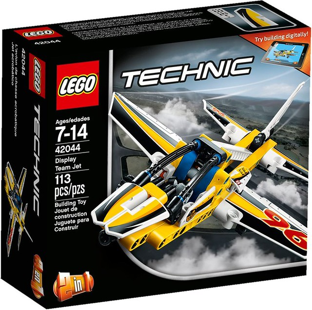 LEGO Technic 2016: 42044 - Display Team Jet
