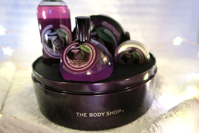 Body Shop Frosted Plum Collection #24DaysofHappiness