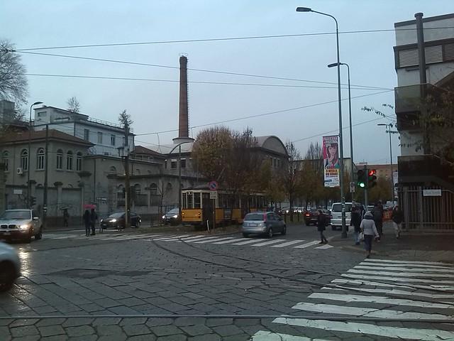 Smokestack of Polytechnic University in Milan
