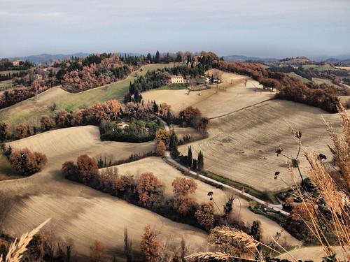 autumn panorama landscape hill urbino autunno marche collina otono davidecherubini