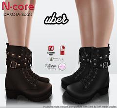 N-core@UBER Dakota Boots